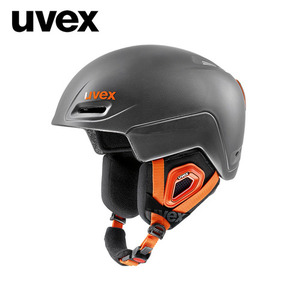 우벡스 스키헬멧1718 uvex jimmgrey-black-orange mat