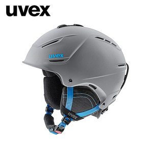 우벡스 스키헬멧1718 uvex p1us 2.0grey-blue mat