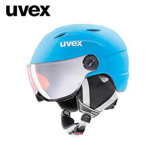 [17/18]uvex junior visor proliteblue-white mat