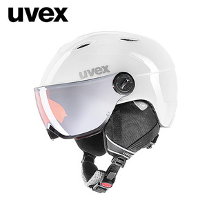 [17/18]uvex junior visor prowhite-grey