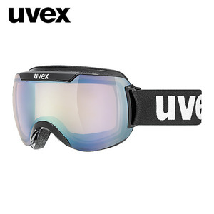 우벡스 스키고글UVEX downhill 2000 VLM ASIAN FIT blacklitemirror silver, variomatic® S1-S3주야겸용