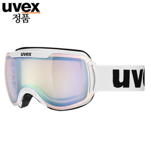 우벡스 스키고글UVEX downhill 2000 VLM ASIAN FIT whitelitemirror silver, variomatic® S1-S3주야겸용