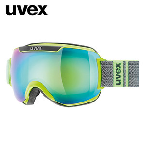 우벡스 스키고글UVEX downhill 2000 FM ASIAN FIT lime-grey matmirror green S3주간전용