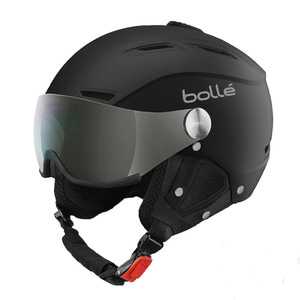 17/18[bolle]BACKLINE VISOR PREMIUM Soft Black & White1 변색 Silver Visor