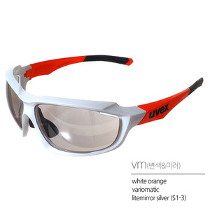uvex sportstyle 710 vmwhite orange(변색)Asian Fit