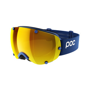 피오씨 스키고글1819 POC Lobes Clarity T-Blue/Gold