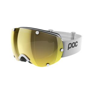 피오씨 스키고글1819 POC Lobes Clarity White/Gold