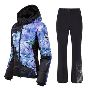 데상트 스키복1819 DESCENTE HANA SBK SET
