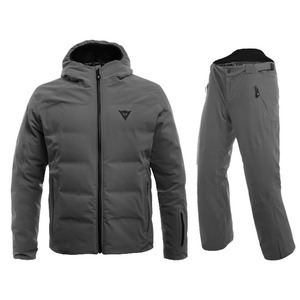 다이네즈 스키복1819 Dainese SKI DOWNJACKET MAN + HP2 P M1GUN METAL + GUN METAL