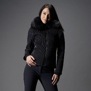 퓨잡 스키복 19 FUSALP MONTANA III WOMEN SKI JACKET Dark blue