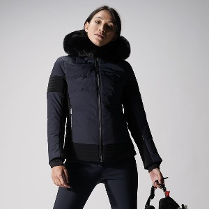 퓨잡 스키복 19 FUSALP GARDENA III WOMEN SKI JACKET Dark blue
