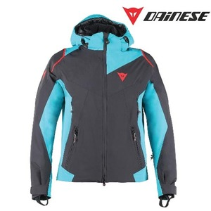 다이네즈 스키복1617 DAINESE SKYWARD D-DRY JACKETBLACK/BRIGHT-AQUA/FIRE-RED