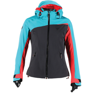 다이네즈 스키복1617 DAINESE CIAMPAC D-DRY JACKET LADYBRIGHT-AQUA/BLACK/FIRE-RED