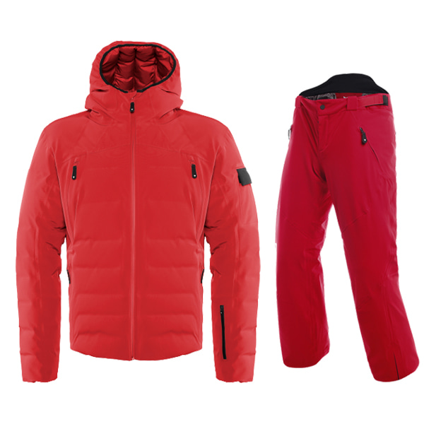 19 DAINESE SKIDOWNJACKET SPORT CHILI-PEPPER 위 아래 같은 색