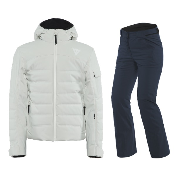 다이네즈 20 SKI DOWNJACKET WOMAN 2.0 + HP SNOWBURST P WMN 화이트 + 블랙탭